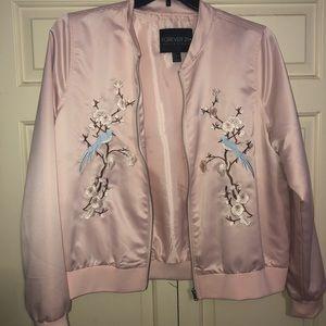 Plus size Forever 21 bomber jacket